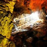 Caverna de Dong Thein Cung Imagens de Stock