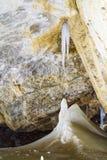 Caverna de gelo de Dobsinska imagens de stock royalty free