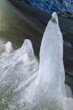 Caverna de gelo de Dobsinska foto de stock royalty free