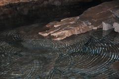 Caverna de gelo de Kungur fotografia de stock