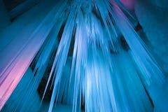 A caverna de gelo do milênio Imagens de Stock Royalty Free