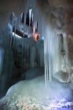 A caverna de gelo do milênio Fotografia de Stock Royalty Free