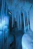 A caverna de gelo do milênio fotos de stock