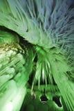 A caverna de gelo do milênio Fotos de Stock Royalty Free