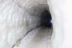 A caverna de gelo em Islândia Fotos de Stock