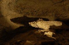 Caverna de gelo em Kingur; a pedra gosta de um rato Imagem de Stock Royalty Free