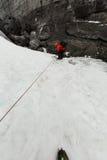 Caverna de gelo Islândia imagem de stock