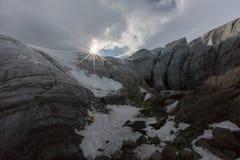 Caverna de gelo Islândia fotos de stock royalty free