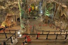 Caverna de Gibraltar - auditório fotos de stock