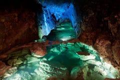 Caverna de incandescência Imagem de Stock Royalty Free