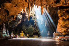 Caverna de Khao Luang Fotografia de Stock