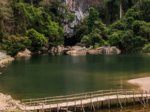 Caverna de Konglor Fotografia de Stock Royalty Free