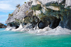 Caverna de mármore Fotografia de Stock Royalty Free