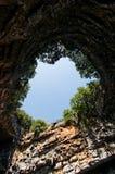 Caverna de Melissani Fotografia de Stock Royalty Free