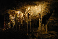 Caverna de Moravian imagens de stock royalty free