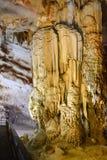 Caverna de Paradise no parque nacional do golpe de Phong Nha-KE, local do patrimônio mundial do UNESCO em Quang Binh Province, Vi fotos de stock royalty free