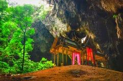 Caverna de Phraya Nakhon Fotografia de Stock