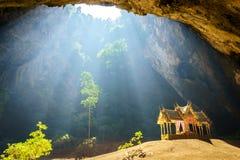 Caverna de Phraya Nakhon fotos de stock