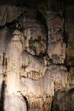 Caverna de Postojna imagem de stock