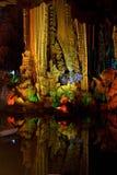 Caverna de prata, YangShou fotografia de stock