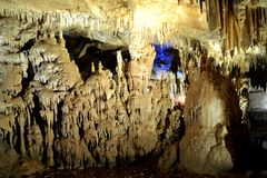 Caverna de Prometeus situada em Geórgia imagem de stock royalty free
