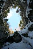 Caverna de Scarisoara foto de stock royalty free