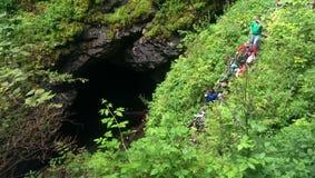 Caverna de Scarisoara Fotos de Stock