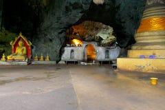 Caverna de Tham Khao Luang, província de Phetchaburi, Tailândia Fotografia de Stock Royalty Free