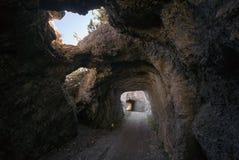 Caverna de Tremalzo foto de stock