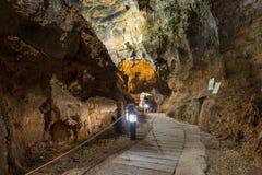 Caverna dei crani Fotografia Stock