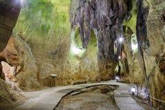 Caverna dei crani Immagine Stock