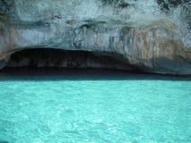 Caverna dei leoni marini Fotografia Stock