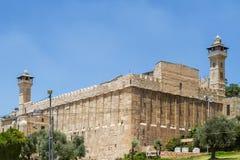 Caverna dei patriarchi, caverna di Machpelah in Hebron, Israele Immagine Stock Libera da Diritti