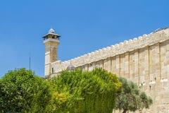 Caverna dei patriarchi, caverna di Machpelah in Hebron, Israele Immagini Stock Libere da Diritti