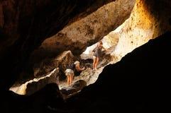 Caverna del calcare Immagini Stock Libere da Diritti