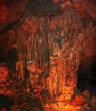 Caverna del fuoco immagine stock libera da diritti