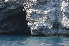 Caverna del mare Immagini Stock Libere da Diritti