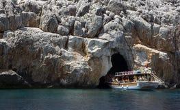 Caverna del pirata Immagini Stock