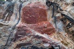 Caverna del sicario di Kaw Immagine Stock