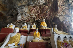 Caverna del sicario di Kaw Fotografia Stock