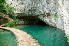 Caverna dell'acqua Fotografia Stock