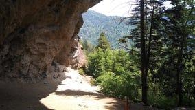 Caverna dell'allume Fotografie Stock Libere da Diritti