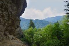 Caverna dell'allume Immagini Stock