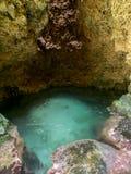 Caverna dell'indiano - linea costiera intorno a Wataluma Fotografia Stock Libera da Diritti