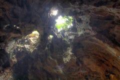 Caverna della montagna di marmo alla città di Da Nang Fotografia Stock