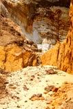 Caverna della sabbia Fotografie Stock Libere da Diritti