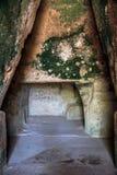 Caverna della sibilla, Cuma Italia Immagine Stock Libera da Diritti