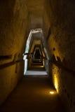 Caverna della sibilla, Cuma Italia Immagini Stock Libere da Diritti