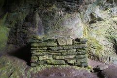 Caverna della st Columba Immagine Stock