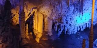 Caverna della stalattite Fotografia Stock Libera da Diritti